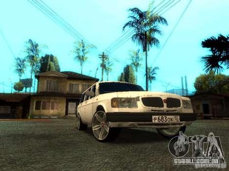 GAZ VOLGA 310221 TUNING versão para GTA San Andreas