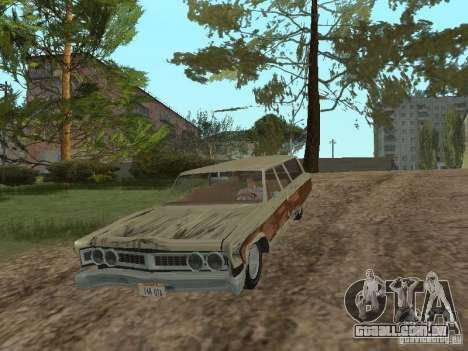 Chrysler Town and Country 1967 para GTA San Andreas vista interior