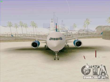 Airbus A330-200 para GTA San Andreas vista direita