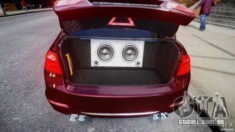 BMW 335i 2013 v1.0 para GTA 4 vista interior