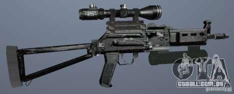 Pistola-metralhadora Bizon para GTA San Andreas