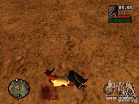 Lixo da explosão para GTA San Andreas quinto tela
