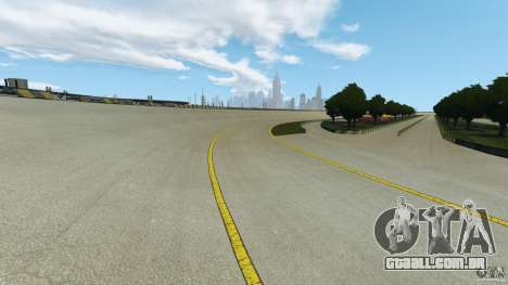 Dakota Raceway [HD] Retexture para GTA 4 quinto tela