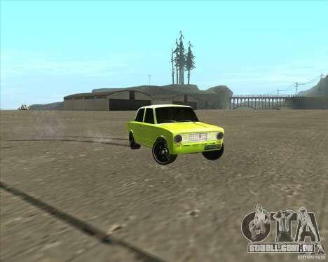 2101 VAZ versão tuning de carro para GTA San Andreas vista direita