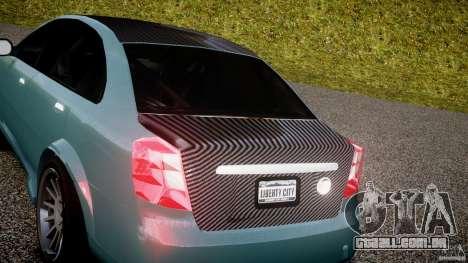Chevrolet Lacetti WTCC Street Tun [Beta] para GTA 4 vista de volta