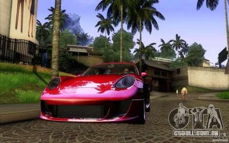Ruf RK Coupe V1.0 2006 para GTA San Andreas vista direita