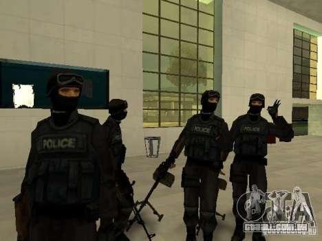 Ajuda Swat para GTA San Andreas quinto tela