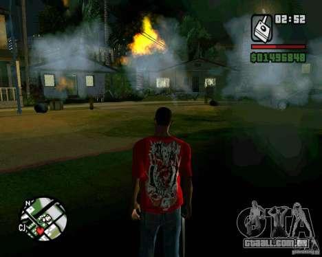 Bomba para GTA San Andreas quinto tela