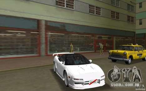 Honda NSX 1991 para GTA Vice City vista direita