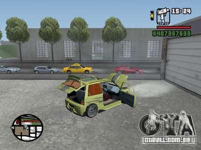 1111 OKA (tuning) para GTA San Andreas vista direita