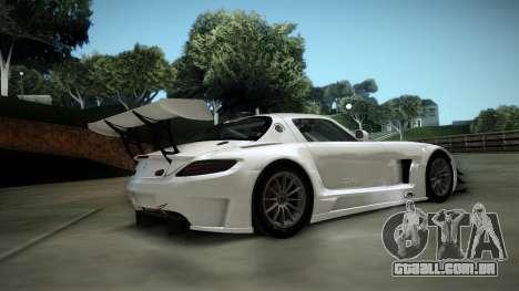 Mercedes-Benz SLS AMG GT3 para GTA San Andreas vista traseira