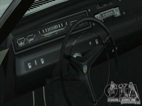 Plymouth Roadrunner 440 para GTA San Andreas vista traseira