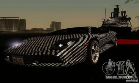 Lamborghini Murcielago para GTA San Andreas vista superior
