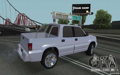 Cavalgada FXT do GTA 4 para GTA San Andreas esquerda vista
