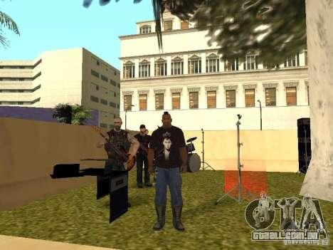 A faixa de Gaza para GTA San Andreas sétima tela