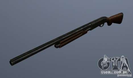Remington 870AE para GTA San Andreas segunda tela