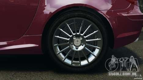 Mercedes-Benz SLK 55 AMG 2010 para GTA 4 vista lateral