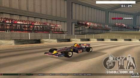 Ferrari F1 RedBull para GTA San Andreas