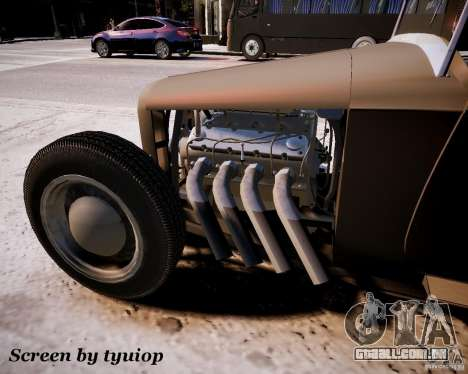 Roadster High Boy para GTA 4 traseira esquerda vista