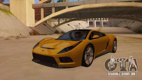 Saleen S5S Raptor 2010 para GTA San Andreas