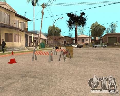Remapping Ghetto v.1.0 para GTA San Andreas segunda tela