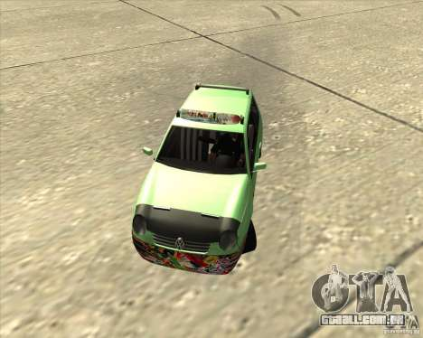 Volkswagen Lupo Hellaflush para GTA San Andreas esquerda vista