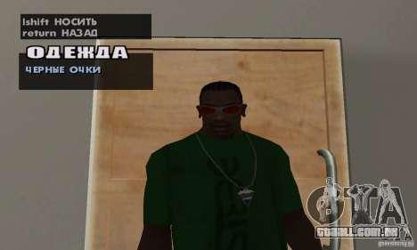 Óculos para GTA San Andreas