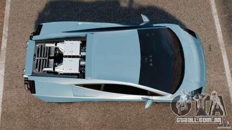 Lamborghini Gallardo Twin Turbo Kit para GTA 4 vista direita