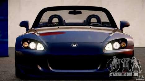 Honda S2000 para GTA 4 esquerda vista
