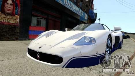 Maserati MC12 para GTA 4 traseira esquerda vista