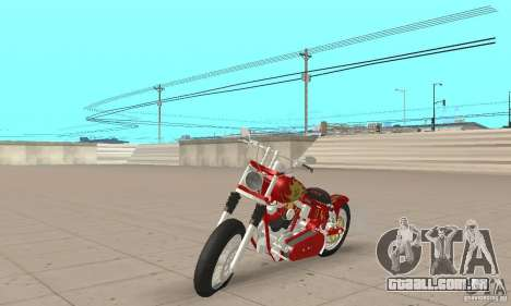 Orange County old school chopper Sunshine para GTA San Andreas