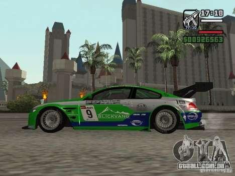Alpina B6 GT3 para GTA San Andreas esquerda vista
