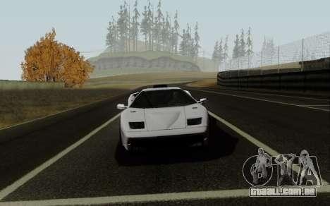 Lamborghini Diablo GTR TT Black Revel para GTA San Andreas vista direita