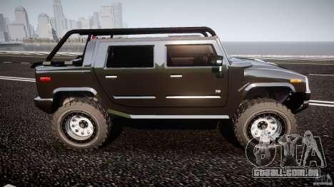 Hummer H2 4x4 OffRoad v.2.0 para GTA 4 vista interior