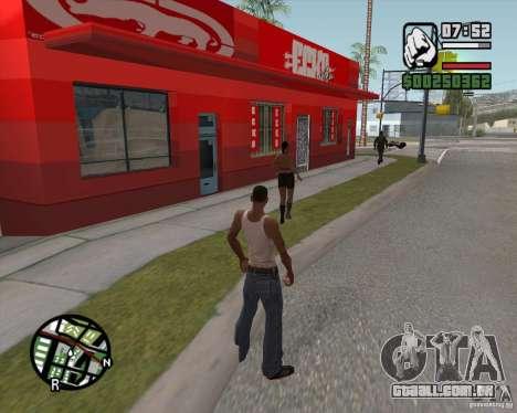 Loja Ecko para GTA San Andreas terceira tela
