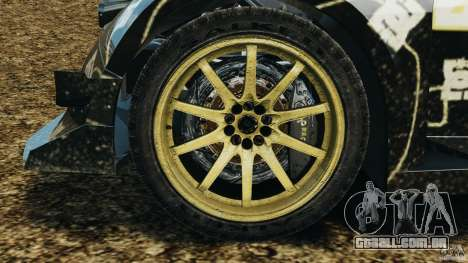 Colin McRae BFGoodrich Rallycross para GTA 4 vista de volta