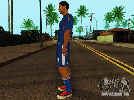 Cristiano Ronaldo v2 para GTA San Andreas terceira tela
