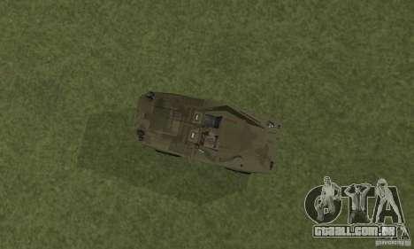 BRDM-1 pele 3 para GTA San Andreas vista traseira