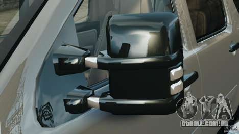 Chevrolet Suburban GMT900 2008 v1.0 para GTA 4 vista inferior