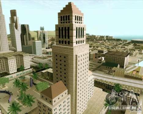 Los Santos City Hall para GTA San Andreas quinto tela