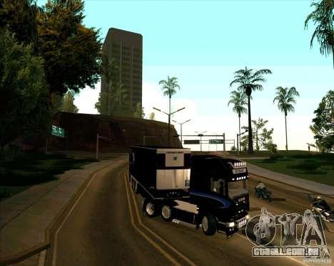 Scania R620 Pimped para GTA San Andreas vista direita