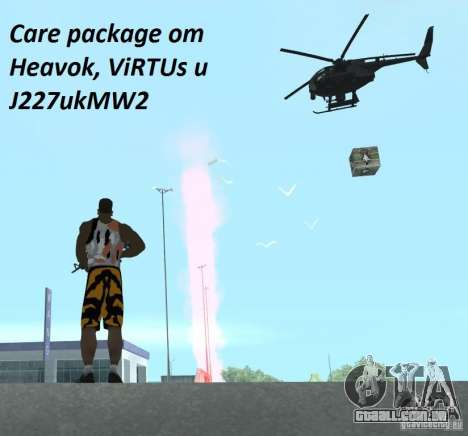 Care Package from MW2 para GTA San Andreas