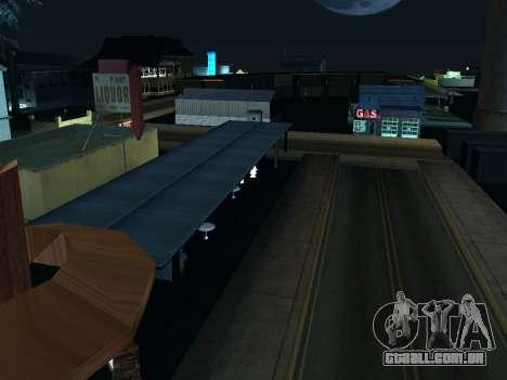 La Villa De La Noche v 1.0 para GTA San Andreas por diante tela