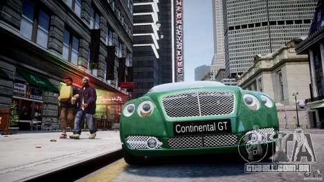 Bentley Continental GT para GTA 4 motor