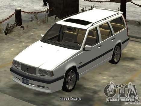 Volvo 850 R 1996 Rims 2 para GTA 4