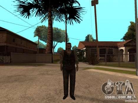 Personagens de Pak atualizadas do Resident Evil  para GTA San Andreas quinto tela