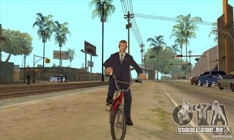 Dmitry Anatolyevich Medvedev para GTA San Andreas por diante tela