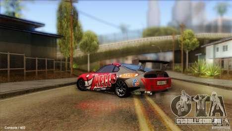Toyota Supra HELL para GTA San Andreas esquerda vista