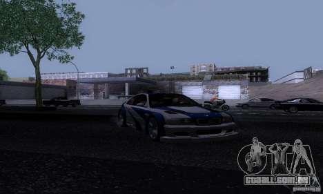 ENB Reflection Bump 2 Low Settings para GTA San Andreas terceira tela