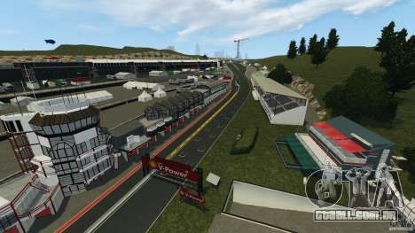 SPA Francorchamps [Beta] para GTA 4 terceira tela
